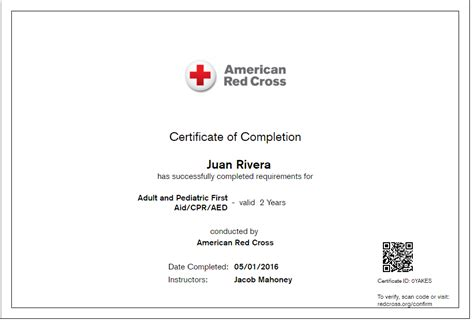 2016 Paper Cpr Card Template by And Pediatric Aid Cpr Aed Juan Rivera