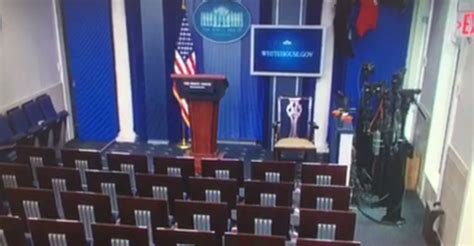 White House Press Briefing Room by White House Press Briefing Room Evacuated Due To Bomb