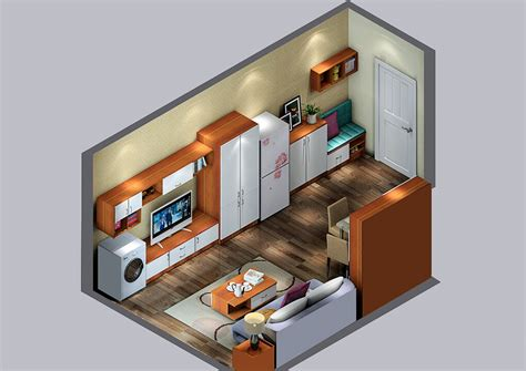 small house interior layout ideas 3d house