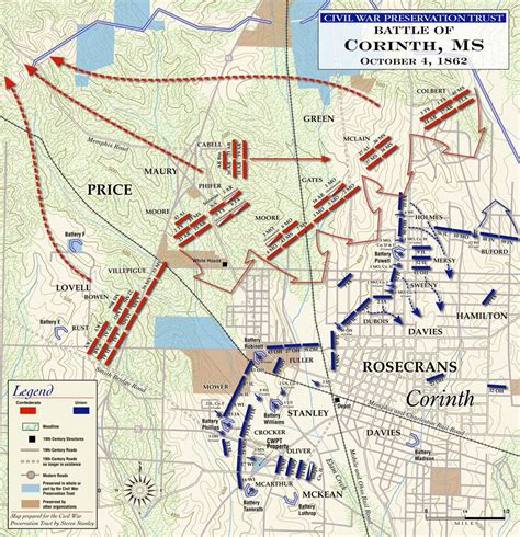 map of corinth texas civil war journey the second battle of corinth oct 3rd 4th 1862