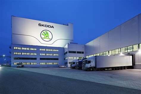 Skoda Auto As Mlada Boleslav by Skoda Parts Center 25 000 Bestellungen T 228 Glich Bild