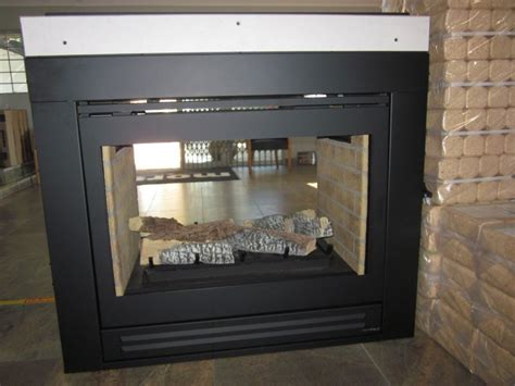 Two Sided Gas Fireplace Insert by Gas Fireplace Logs Sided Fireplaces Fireplaces