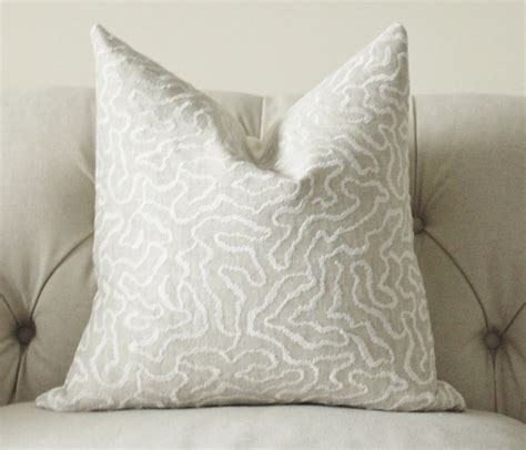 beige couch pillows greige pillow grey beige off white geometric pillow cover