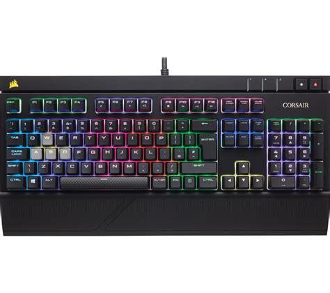 Keyboard Corsair buy corsair strafe rgb silent mechanical gaming keyboard free delivery currys