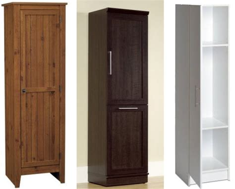 Prepac Armoire Tall Cabinets For Small Spaces Choozone