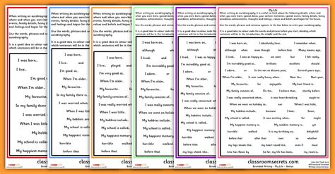 biography timeline ks2 ks1 and ks2 autobiography writing prompt classroom secrets