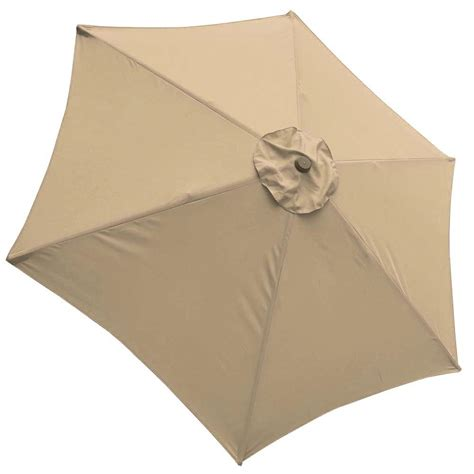 9ft Patio Umbrella Replacement Canopy 6 Rib Outdoor Market Patio Umbrella Canopy Replacement