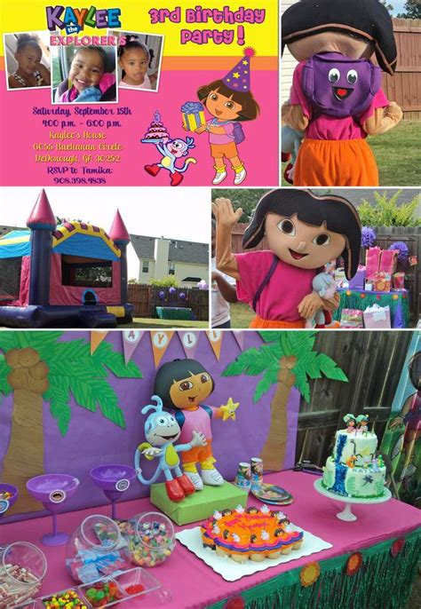 dora the explorer printable party decorations dora the explorer birthday party ideas photo 1 of 3