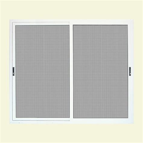 96 Inch Sliding Patio Doors Unique Home Designs 96 In X 80 In White Sliding Patio Meshtec Ultimate Screen Door