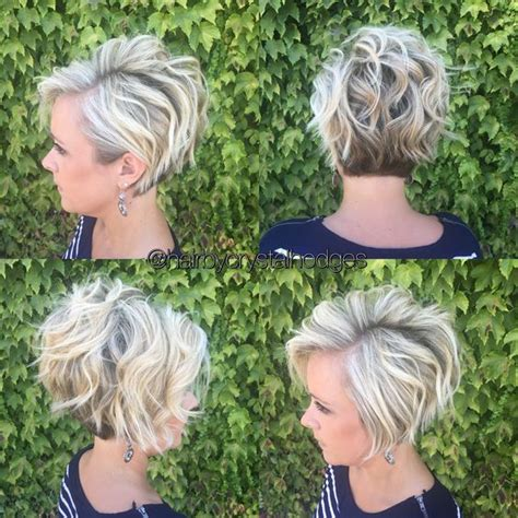 10 Messy Hairstyles for Short Hair   2018 Short Hair Cut