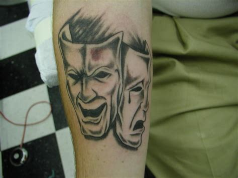 happy sad mask tattoo designs happy sad masks by cbell artwanted
