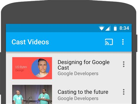 cast for android cast sdk v3 android codelab
