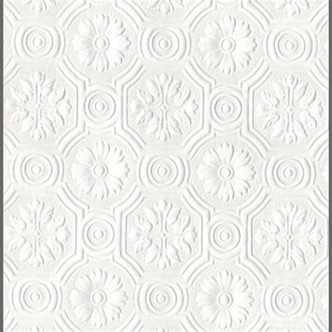 black and white embossed wallpaper anaglypta supaglypta spencer floral paintable wallcovering