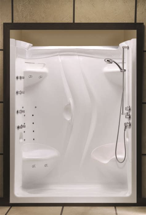 one piece shower bathtub units 1000 ideas about one piece shower stall on pinterest