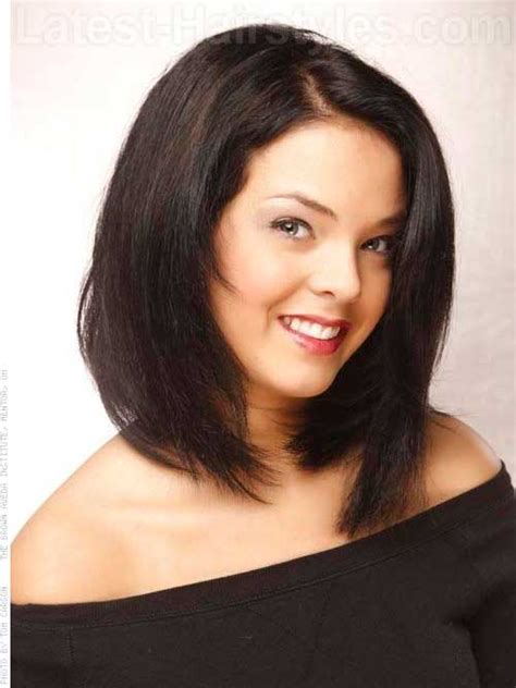 layers long asymmetrical haircuts bob styles for round faces short hairstyles 2017 2018