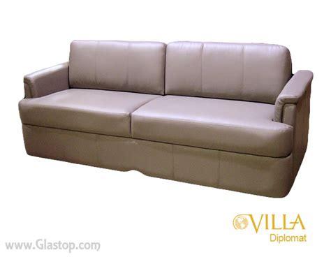 villa sofa villa diplomat jackknife sofa glastop inc