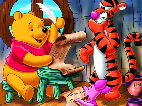 imagenes de winnie pooh estudiando the new adventures of winnie the pooh wallpapers and
