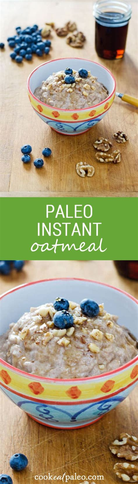 the ã å i my instant potã paleo 100 instant oatmeal recipes on