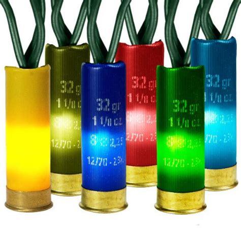 shotgun shell christmas lights multi color shotgun shell christmas lights christmas
