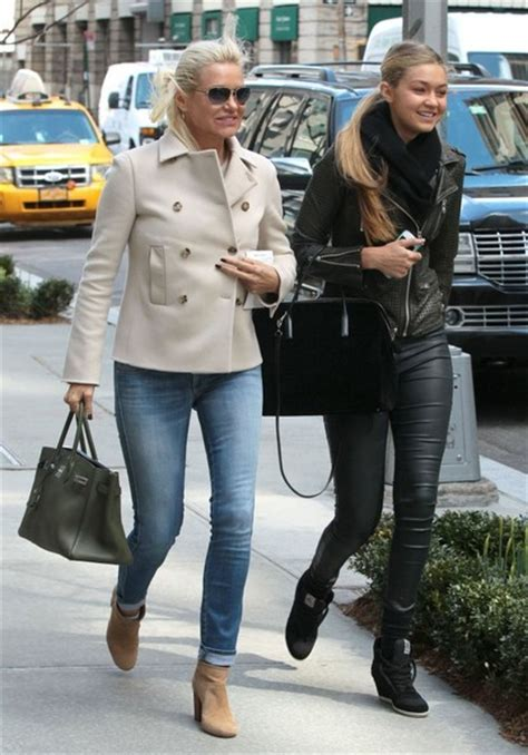 yolanda foster step daughter gigi foster pictures yolanda foster out with her