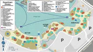 Downtown Disney Florida Map by Pics Photos Downtown Disney Map