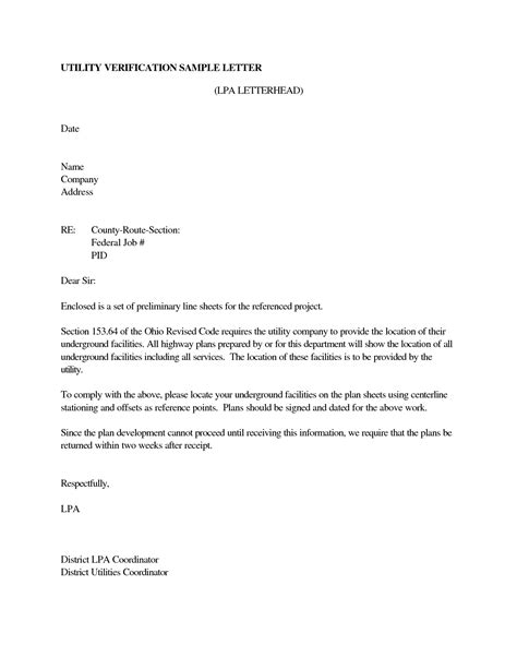 Employment Verification Letter With Address best photos of letter confirming residence sle proof