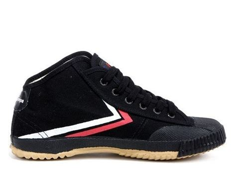 feiyue shoes feiyue high top kung fu shoes black shoes icnbuys