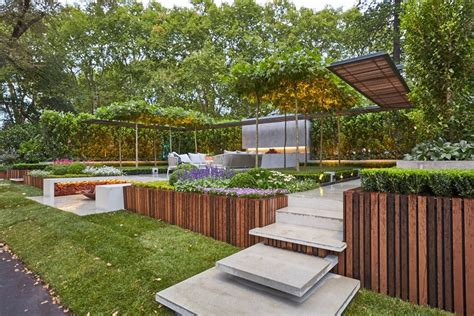 Doherty Design Studio by A Goldworthy Backyard Set Up By Nathan Burkett Best Of
