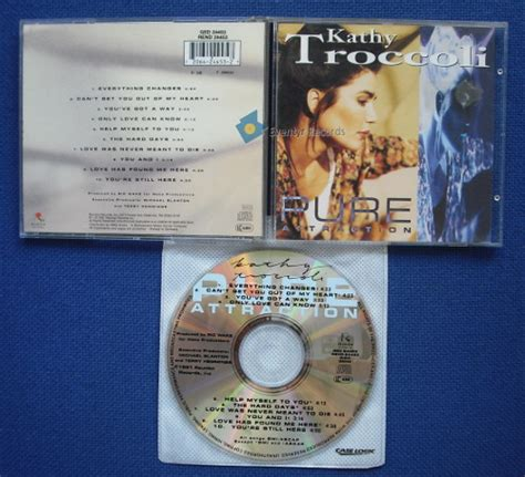 Cd Kathy Troccoli Self Titled kathy troccoli records lps vinyl and cds musicstack