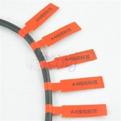 printable wire label sheets popular cable label sheets buy cheap cable label sheets