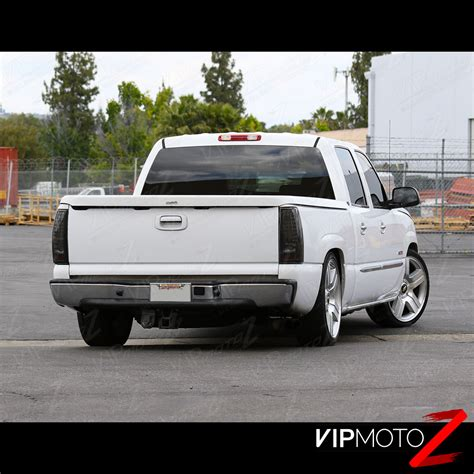 2003 chevy silverado led tail lights 2003 2006 chevy silverado pickup quot smoke quot rear led tail