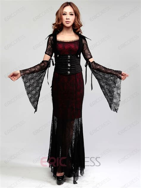 Lamia Dress Emmaqueen black witch dress costumes costumes ericdress 10755856