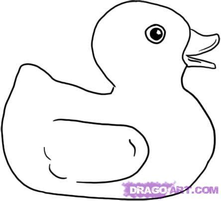 how to draw a rubber ducky step by step characters pop