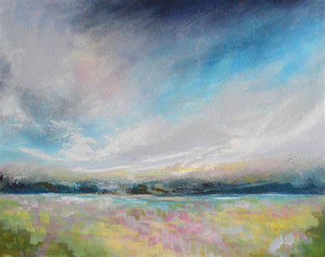 Abstract Landscape Uk Abstract Impressionist Landscape Painting Modern