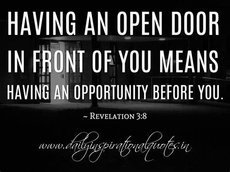 Doors Quotes by Open Door Quotes Inspiration Quotesgram