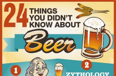 20 things you didn t know about your favorite classic hollywood foodista infographic 24 things you didn t know about beer