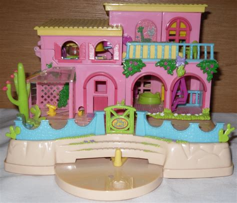 polly pocket dolls house sold polly pocket dollhouse hacienda doll house animals