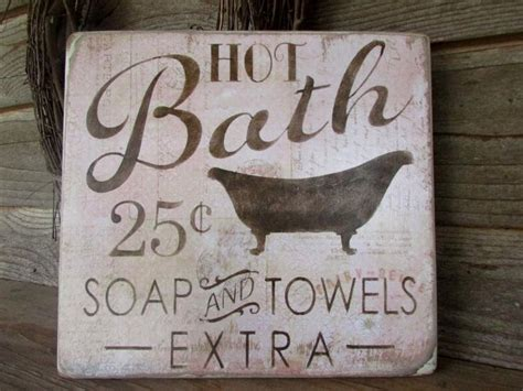 country bathroom signs 1000 ideas about bath sign on pinterest bathroom signs