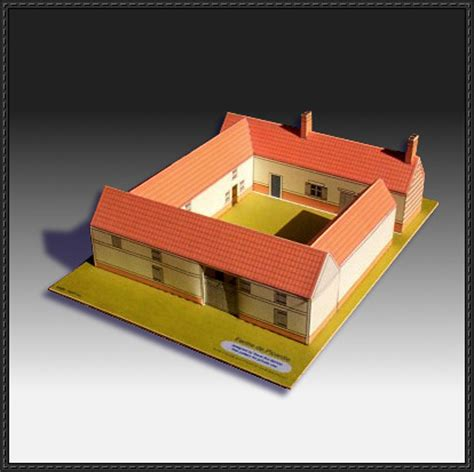 Craft Paper House - new paper craft lots of house paper models free