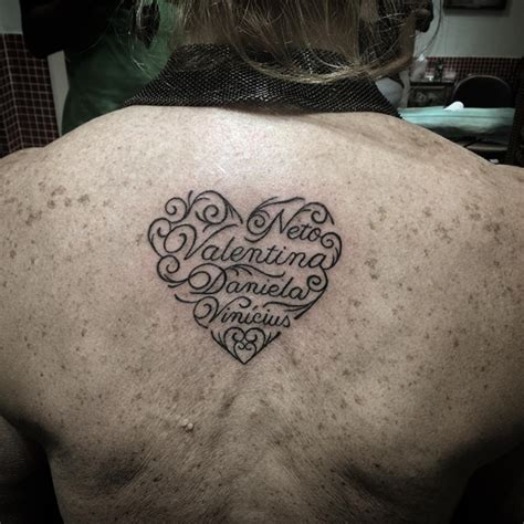 heart tattoos with names tattoo collections
