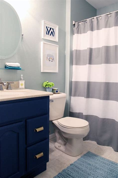 boy bathroom ideas grey and navy blue bathroom www pixshark images