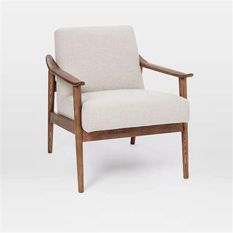 Living Room Wooden Chairs - mid century show wood chair west elm