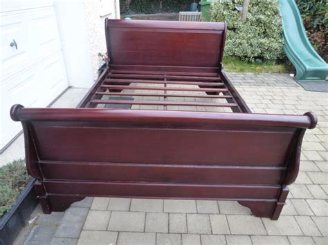 Wooden Beds For Sale by Wooden Sleigh Bed For Sale For Sale In Ballinteer