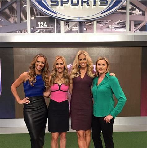 heather mitts fox sports fox sports 1 studio crew kate abdo heather mitts leslie