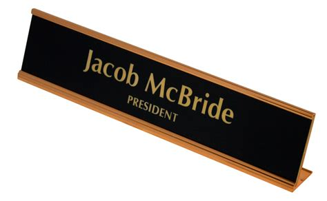 desk name plates nametags name plates edmond trophy awards