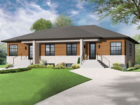modern duplex plans plan 027m 0058 find unique house plans home plans and