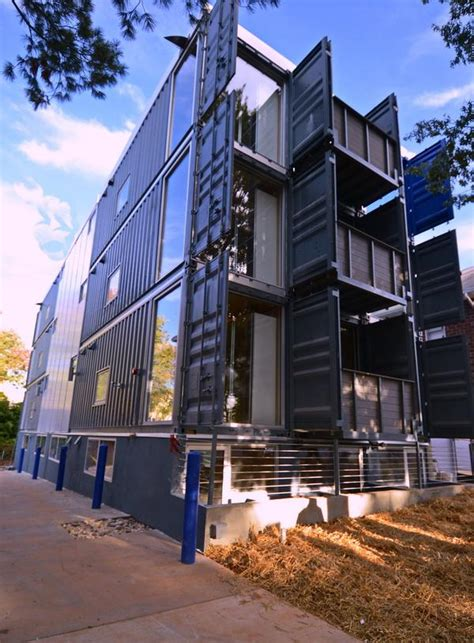 Apartment Washington Dc Dc S Shipping Container Apts Completed