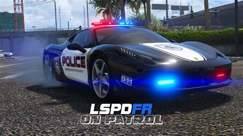 police ferrari enzo lspdfr day 369 ferrari police car youtube