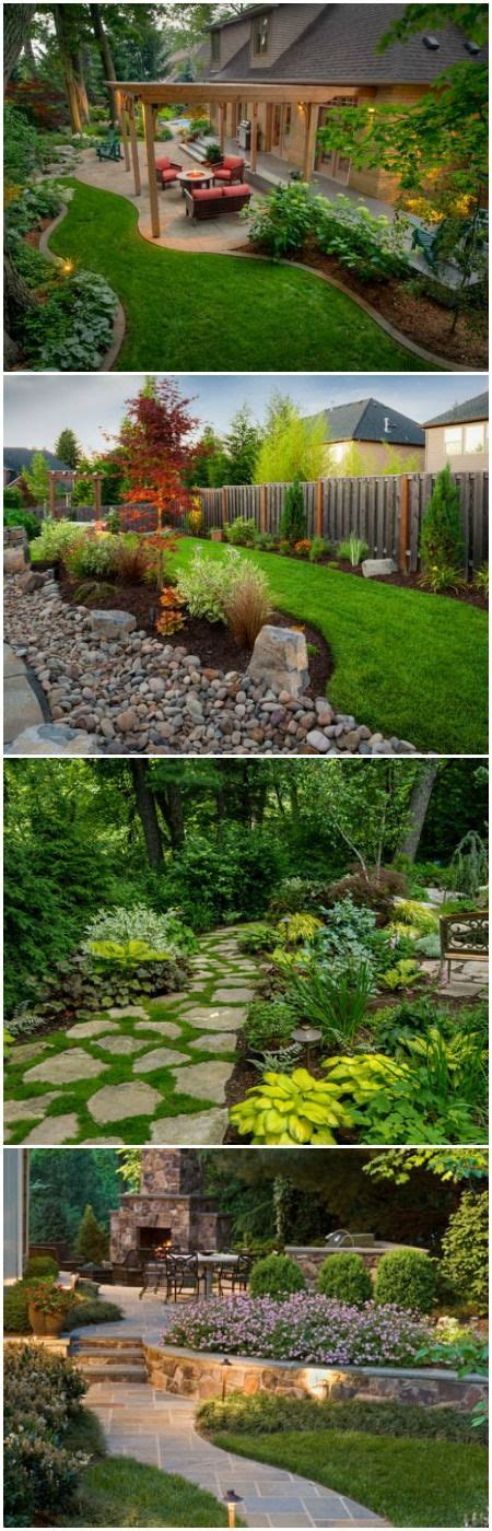 best backyard designs 25 best ideas about landscape design on pinterest