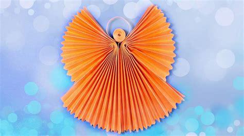 tutorial origami angel craft ideas 3d regarding existing home